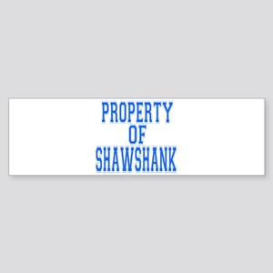 Property of Shawshank Bumper Sticker