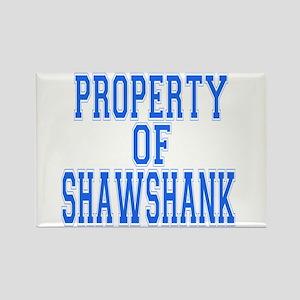 Property of Shawshank Rectangle Magnet
