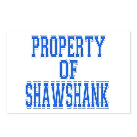 Property of Shawshank Postcards (Package of 8)