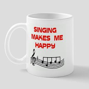 HAPPY SINGER Mug