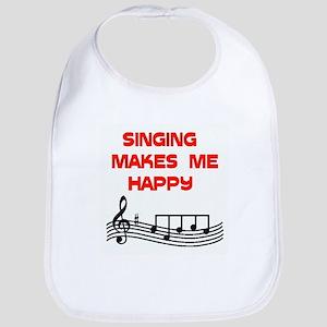 HAPPY SINGER Bib