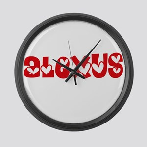 Alexus Love Design Large Wall Clock