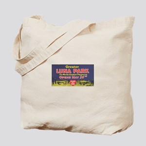 Coney Island Poster Tote Bag