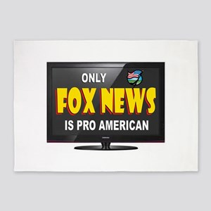 FOX NEWS 5'x7'Area Rug