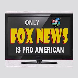 FOX NEWS Throw Blanket