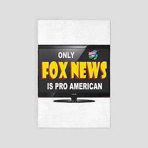 Fox News 4' X 6' Rug