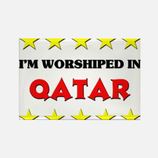 I'm Worshiped In Qatar Rectangle Magnet