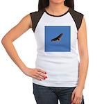 Red-Tailed Hawk Women's Cap Sleeve T-Shirt
