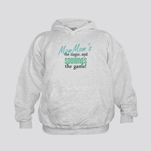 MomMom's the Name! Kids Hoodie
