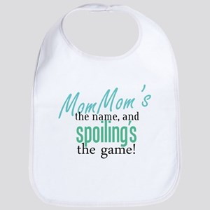 MomMom's the Name! Bib