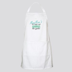 MomMom's the Name! BBQ Apron
