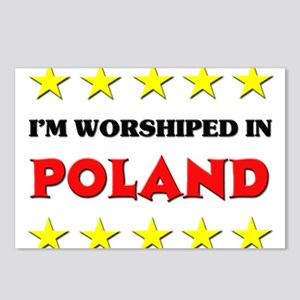 I'm Worshiped In Poland Postcards (Package of 8)