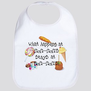 What Happens at Mom-Mom's... Funny Baby Bib