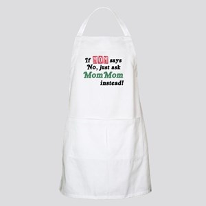 Just Ask MomMom! BBQ Apron