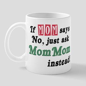 Just Ask MomMom! Mug
