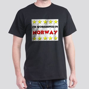 I'm Worshiped In Norway Dark T-Shirt