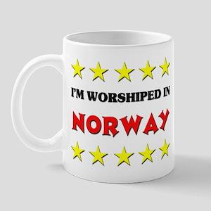 I'm Worshiped In Norway Mug