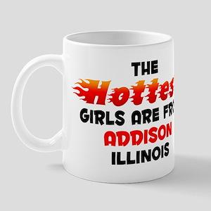 Hot Girls: Addison, IL Mug