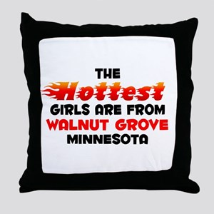 Hot Girls: Walnut Grove, MN Throw Pillow