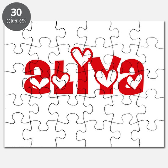 Aliya Love Design Puzzle