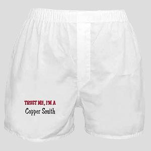 Trust Me I'm a Copper Smith Boxer Shorts