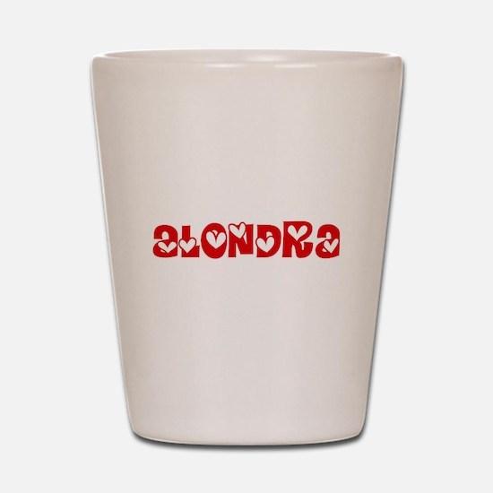 Alondra Love Design Shot Glass