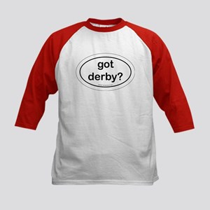 Have Derby? Kids Baseball Jersey