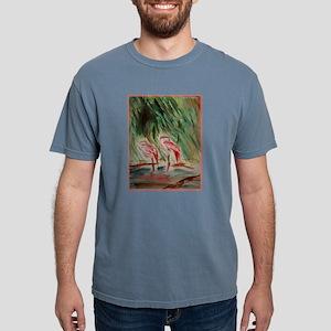Flamingos, bird, wildlife art! T-Shirt