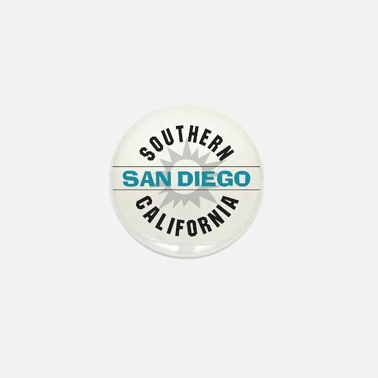 San Diego California Mini Button