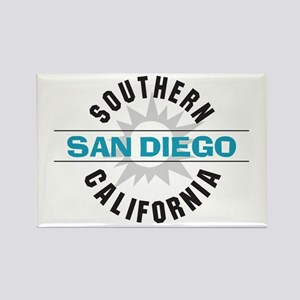 San Diego California Rectangle Magnet