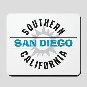 San Diego California Mousepad