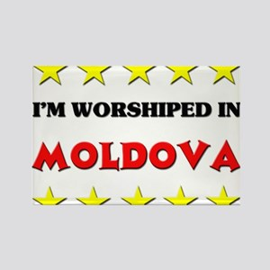 I'm Worshiped In Moldova Rectangle Magnet