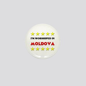 I'm Worshiped In Moldova Mini Button