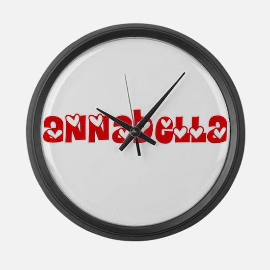Annabella Love Design Large Wall Clock