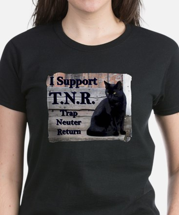 I Support TNR Women's Dark T-Shirt