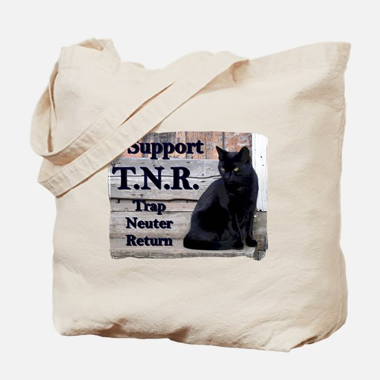 I Support TNR Tote Bag