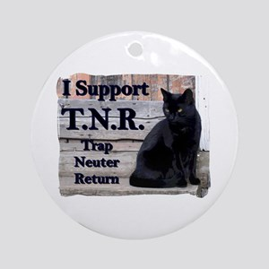 I Support TNR Ornament (Round)