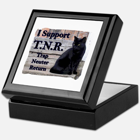 I Support TNR Keepsake Box