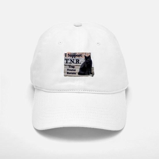 I Support TNR Baseball Baseball Cap