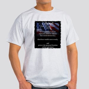 Liberal vs. Conservative Definations Light T-Shirt