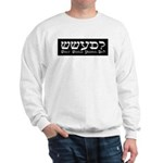 What Would Yeshua Do? Sweatshirt