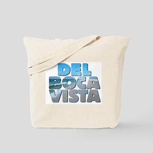 DEL BOCA VISTA Beach Tote Bag