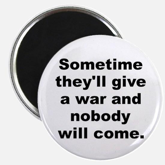 Funny Sometime Magnet