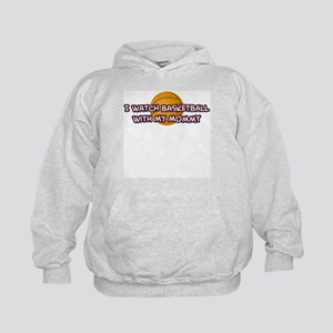 Cleveland Basketball Mommy Kids Hoodie