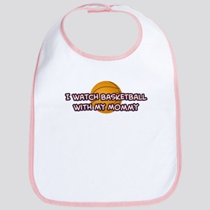 Cleveland Basketball Mommy Bib
