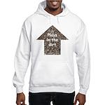 Plays in the dirt Hooded Sweatshirt