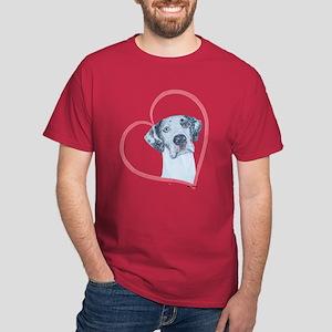 N Heartline Mrlqn Dark T-Shirt