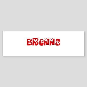 Brenna Love Design Bumper Sticker
