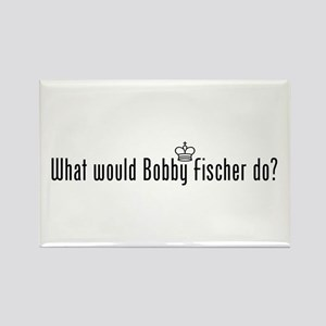 What Would Fischer Do Rectangle Magnet