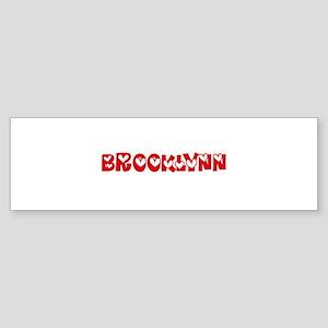 Brooklynn Love Design Bumper Sticker